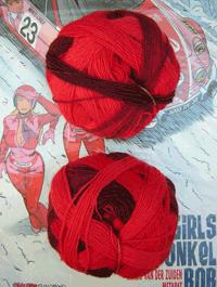 Zauberball - Cranberries, Schoppel-Wolle