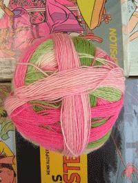 Zauberball - Durch die Blume, Schoppel-Wolle