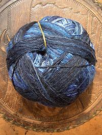 Wunderkleckse - Liquid Blue, Schoppel-Wolle