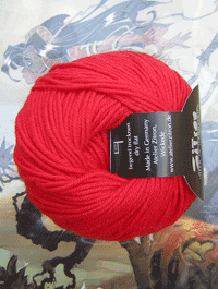 Life Style Wolle - rote glut, Atelier Zitron