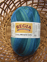 Mineral Color - blau dunkelgrün hellgrün - Farbe 04379