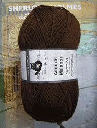 Admiral Melange - Tabak - Farbe 8488