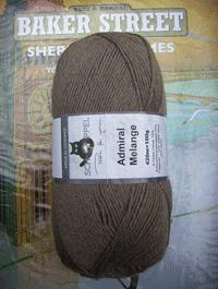 Admiral Melange - Camel, Schoppel-Wolle