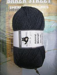 Admiral Melange - Vintage Blue, Schoppel-Wolle