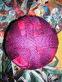 Zauberball Stärke 6 - Indisch Rosa - Farbe 2095