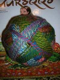 Zauberball St�rke 6 - Papagei, Schoppel-Wolle