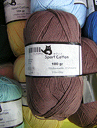 Sport Cotton - nougat, Schoppel-Wolle