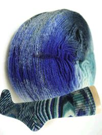 Fliegende Untertasse - Kommando Socke, Schoppel-Wolle