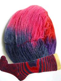 Fliegende Untertasse - Sichtung in Pink, Schoppel-Wolle