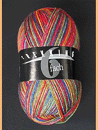 Trekking 6-fach Color - Archäologin, Atelier Zitron