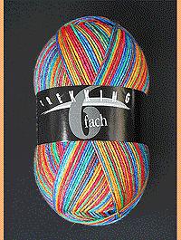 Trekking 6-fach Color - B�ckerin, Atelier Zitron