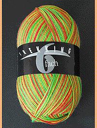 Trekking 6-fach Color - Landwirtin, Atelier Zitron