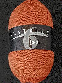 Trekking 6-fach Wolle Uni | Farbcode 1711, henna