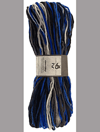 Pur Wolle - Blaues Meer - Farbe 1968ombre