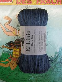 El Linio - Armeeblau, Schoppel-Wolle