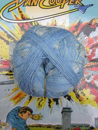 XL Kleckse - Ein Hauch Bleu, Schoppel-Wolle