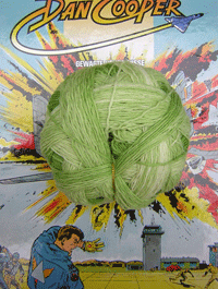 XL Kleckse - Minzig, Schoppel-Wolle
