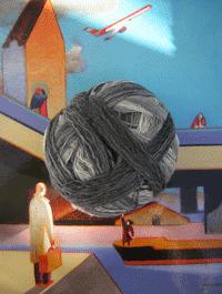 XL Kleckse - Das bisschen Regen, Schoppel-Wolle
