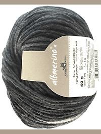 Albmerino - Schwarzmelange, Schoppel-Wolle