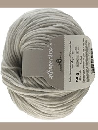 Albmerino - Naturmelange, Schoppel-Wolle