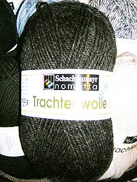 Trachtenwolle - braun meliert, Schachenmayr
