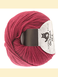 On Touch Uni - blasslila fuchsia, Schoppel-Wolle