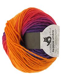 Reggae Ombre - Fuchsienbeet, Schoppel-Wolle