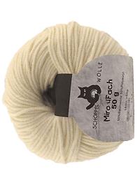 Miro 4 fach Uni - natur, Schoppel-Wolle