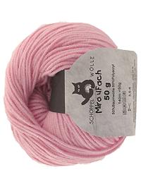 Miro 4 fach Uni - rose, Schoppel-Wolle