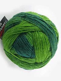 Zauberball 100 - Evergreen, Schoppel-Wolle