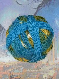 Zauberball 100 - Blaue Lagune - Farbe 2309