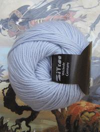 Life Style Wolle - grau blau weiss pastel - Farbe 12
