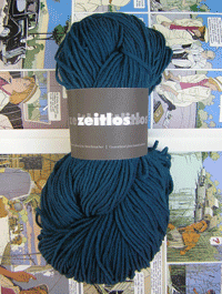Zeitlos Uni - gletscherblau - Farbe 140