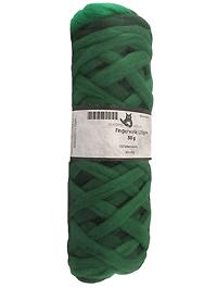 Filzwolle Fingerwolle Regenbogenkammzug - Grashalm - Farbe 1966ombre