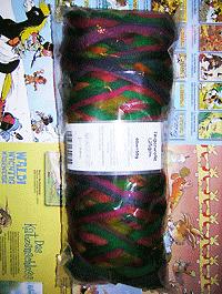 Filzwolle Fingerwolle Regenbogenkammzug - Kunterbunt - Farbe 1505ombre
