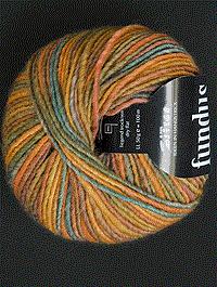Fundus - ocker braun helltürkis, Atelier Zitron