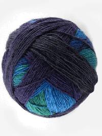 Lace Ball 100 - Blaukraut, Schoppel-Wolle