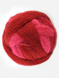 Lace Ball 100 - Heisses Eisen - Farbe 2166