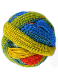 Lace Ball 100 - Papagei, Schoppel-Wolle