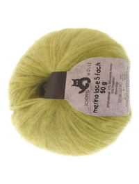 Merino Lace - frühlingsgras - Farbe 6770