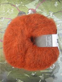 Merino Lace - herbstorange - Farbe 0891