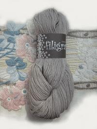 Filigran Lace Uni - hellgrau, Atelier Zitron