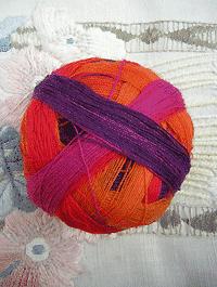 Lace Ball - Fuchsienbeet, Schoppel-Wolle