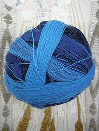 Lace Ball - Deine blauen Augen, Schoppel-Wolle
