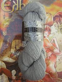 Filisilk Lace Uni - smoke grau, Atelier Zitron
