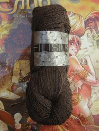 Filisilk Lace Uni - Cappuccino - Farbe 3042
