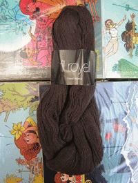 Fil Royal Lace Uni - braun schoko, Atelier Zitron