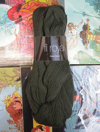 Fil Royal Lace Uni - grün wald, Atelier Zitron