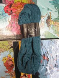 Fil Royal Lace Uni - gr�n romantik - Farbe 3515
