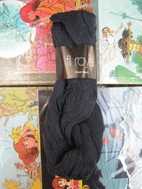 Fil Royal Lace Uni - schwarz, Atelier Zitron